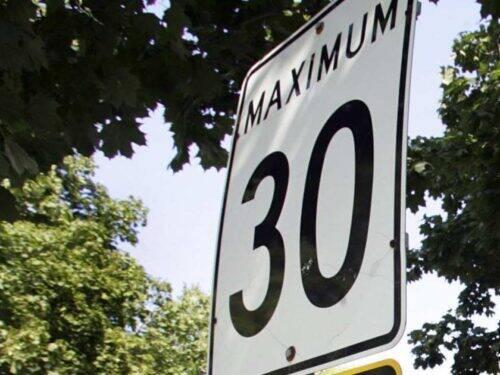 Panneau 30km/h