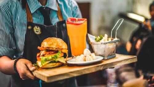 Serveur Burger Restaurant