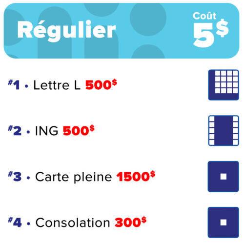 Bingo regulier