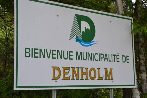Affiche municipalité de Denholm
