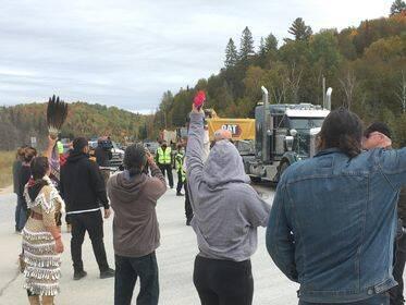 Manifestation autochtone réserve faunique La Vérendrye