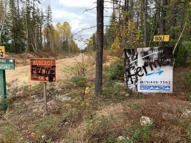 Vandalisme Zec Petawaga 2