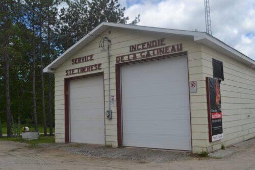 Caserne incendie Sainte-Thérèse-de-la-Gatineau