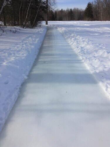 sentier de glace maniwaki