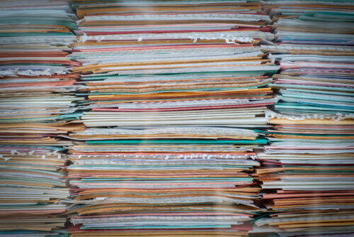 pile de documents