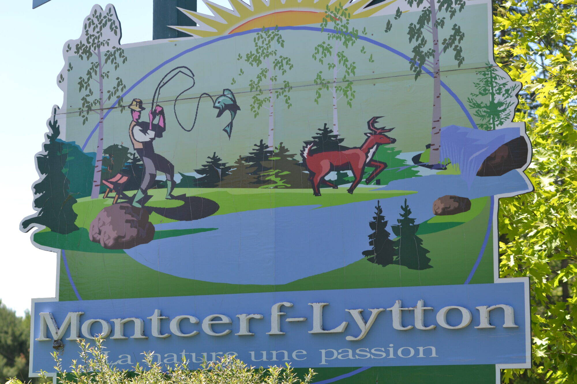 Affiche Montcerf-Lytton - 1