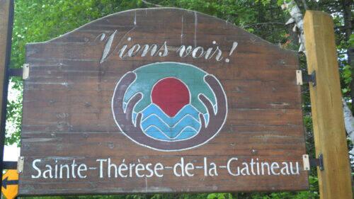 Affiche Sainte-Thérèse - Été