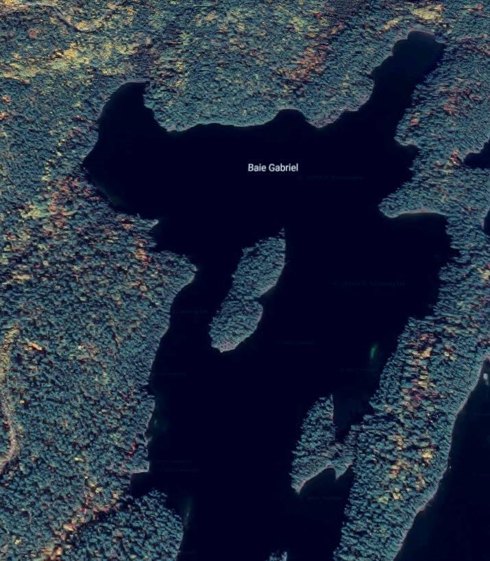 Baie Gabriel - lac 31 Milles