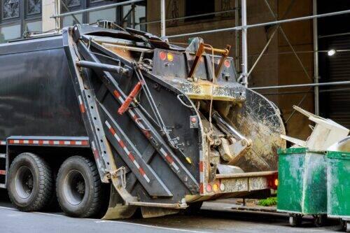 Camion à ordures