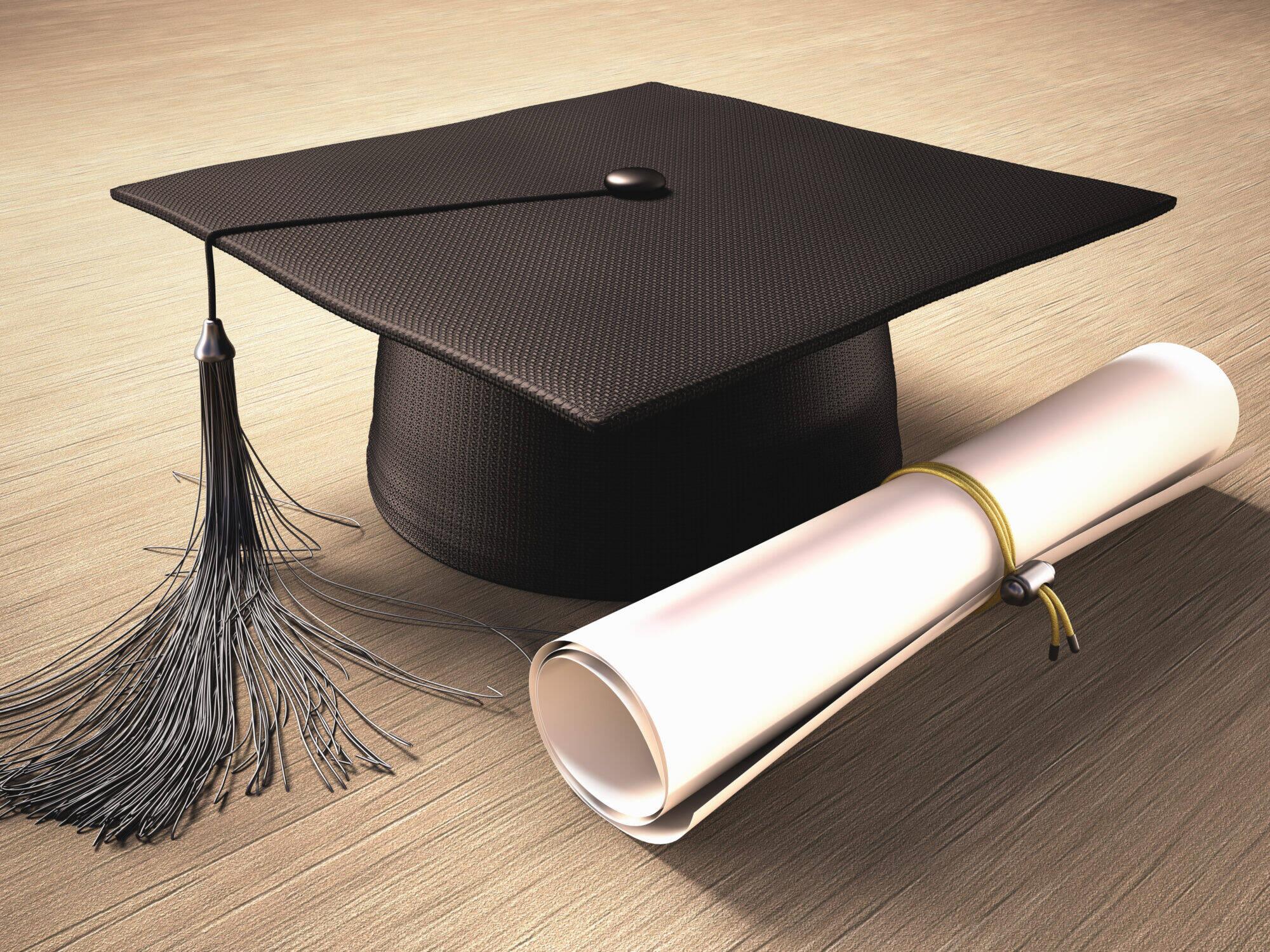 Graduation diplôme études étudiant école
