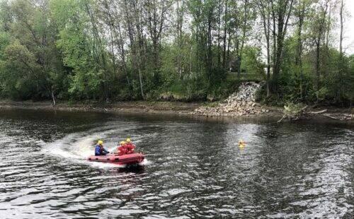 Sauvetage sur plan d'eau