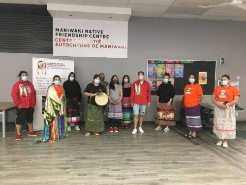 Journée nationale des peuples autochtones - Centre de l'amitié autochtone de Maniwaki